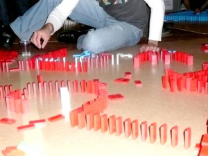 events4teams | Teambuilding activities - Dominos Games