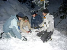 Teambuilding activities - Avalanche rescue