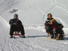 Teambuilding activities - Sled run