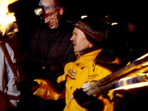 events4teams | Teambuilding activities - Snowshoe hike with torches
