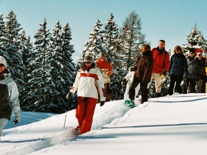 events4teams | Teambuilding activities - Snowshoe trekking